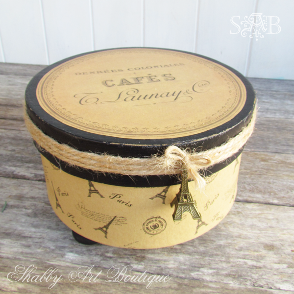 Shabby Art Boutique French Farmhouse box 1