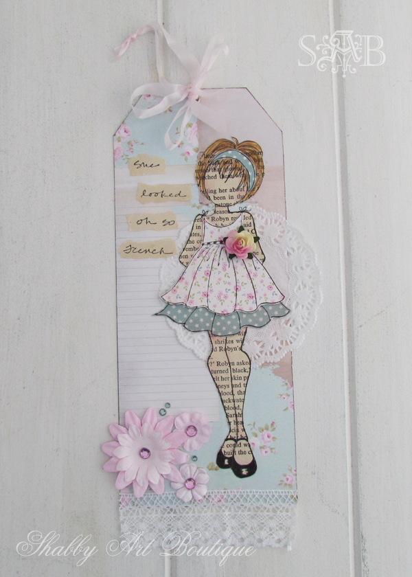 Shabby Art Boutique vintage girls 1