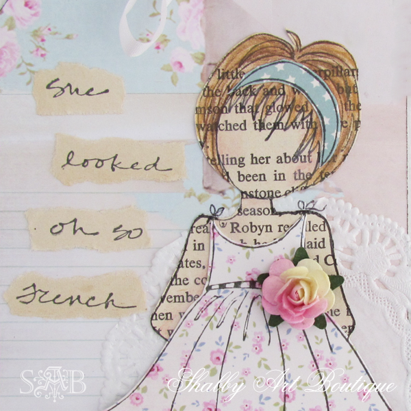 Shabby Art Boutique vintage girls 2