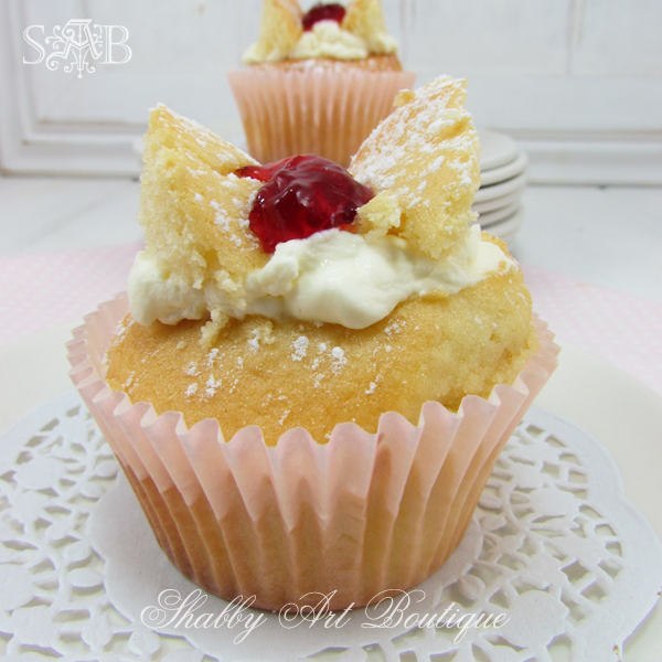 Jam Butterfly Cakes