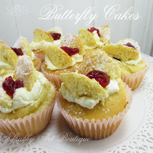 Shabby Art Boutique butterfly cakes 3