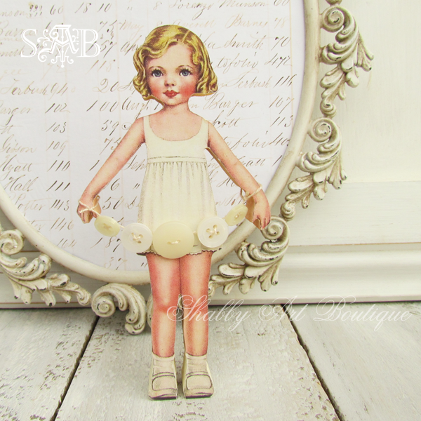 Keeper of the buttons - Shabby Art Boutique