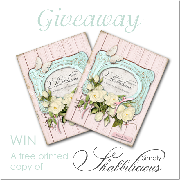 Shabby Art Boutique - Simply Shabbilicious Magazine Giveaway