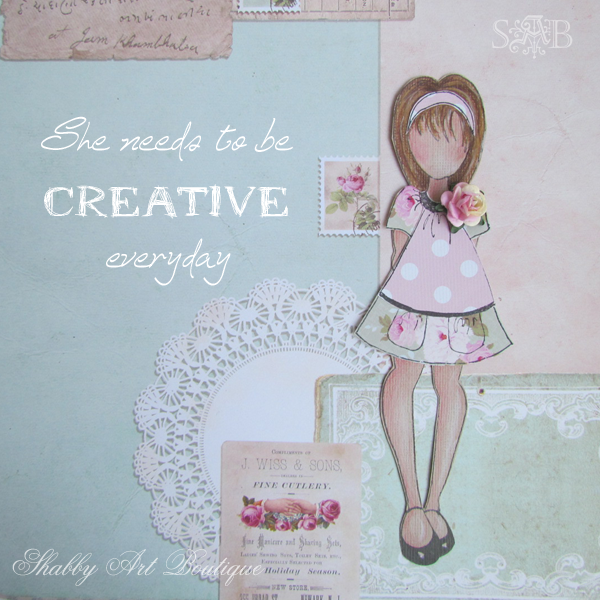 Shabby Art Boutique creative play 3
