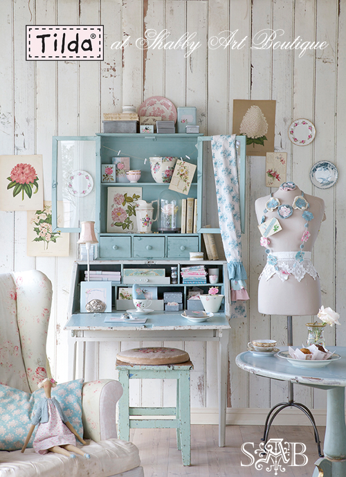 Seaside living with tilda shabby art boutique - Boutique de decoration maison ...