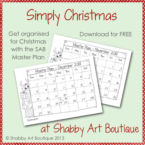 Shabby Art Boutique Master Plan
