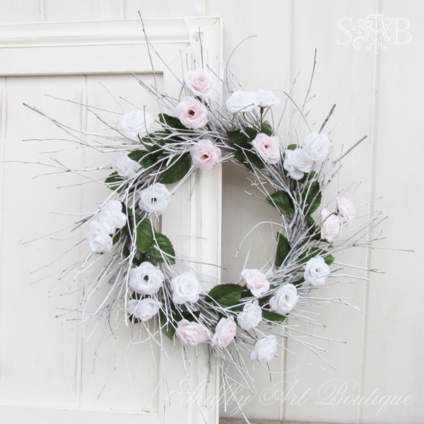 Shabby Art Boutique - Stick wreath 1