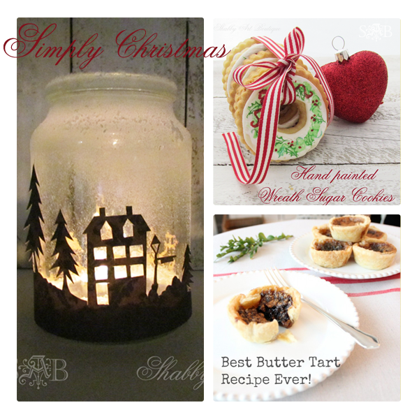 Simply Christmas at Shabby Art Boutique