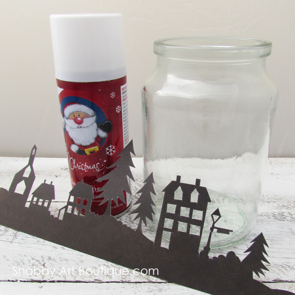 The Original Christmas Township Candle Holder by Shabby Art Boutique.