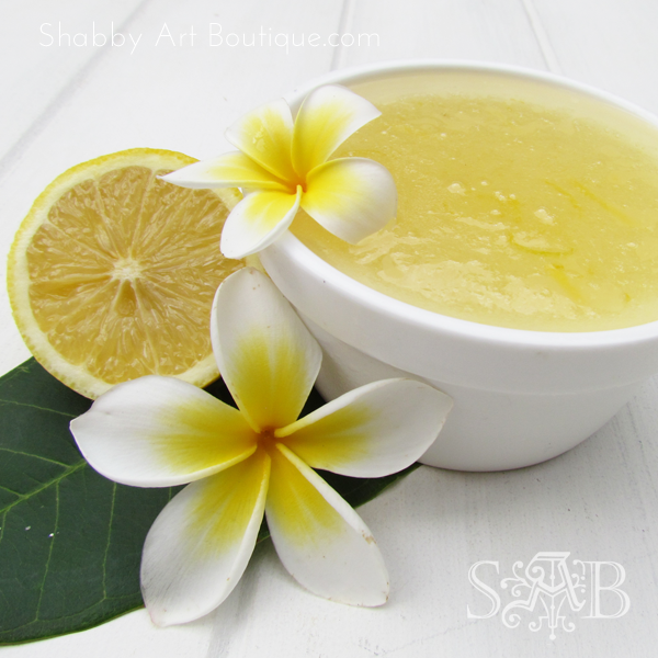 Shabby Art Boutique - Gardener's Lemon Hand Scrub 4