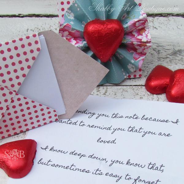 Shabby Art Boutique Mini Love Letters 7