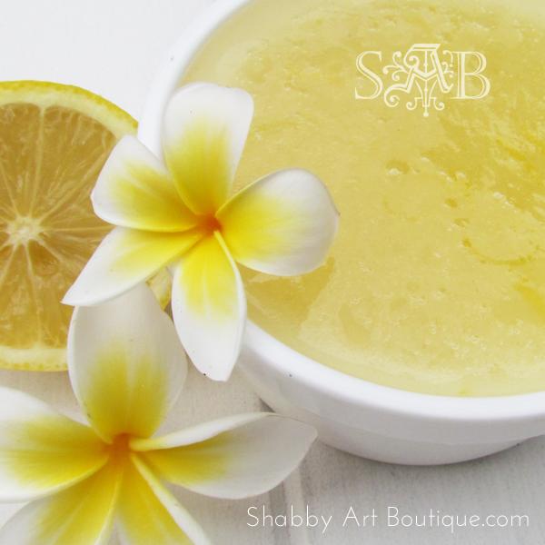 Shabby Artt Boutique - Gardener's Lemon Hand Scrub 3