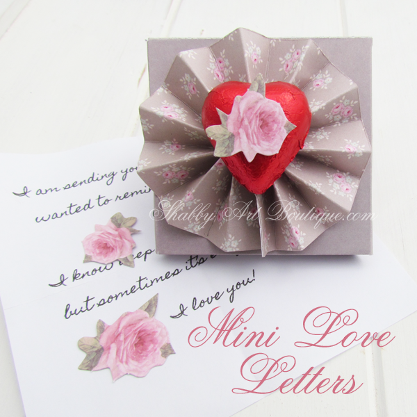 Shabby Art Boutique - Love Letters 2