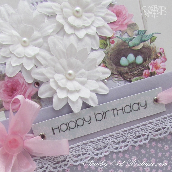 Shabby Art Boutique Tilda Card 6