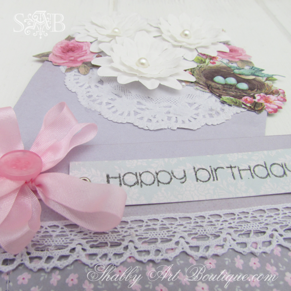Shabby Art Boutique Tilda card 3