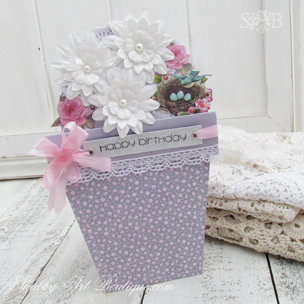 Shabby Art Boutique Tilda card