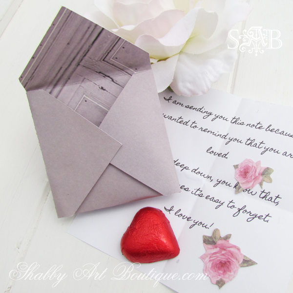 Shabby Art Boutique - love letters 1