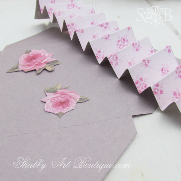 Shabby Art Boutique - love letters 4
