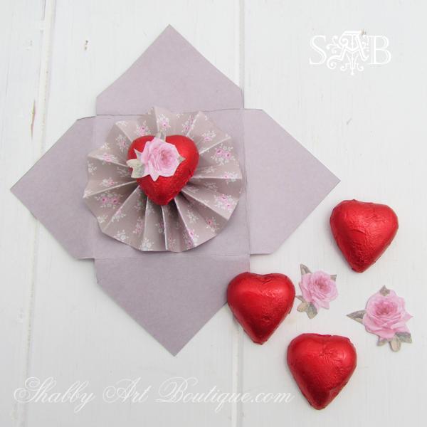 Shabby Art Boutique - love letters 5