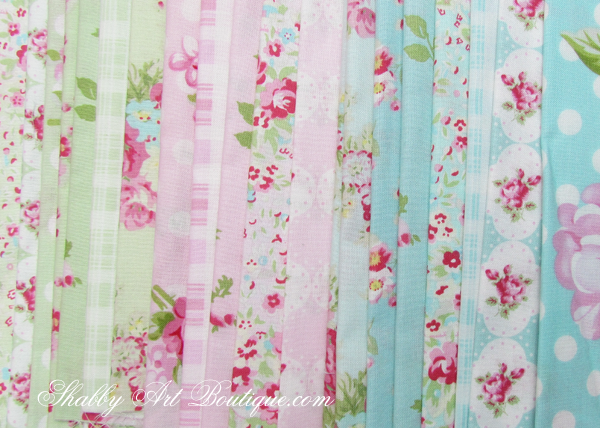 Shabby Art Boutique - shabby 'faux' patchwork 6