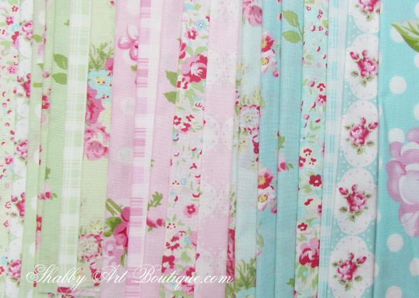Shabby Art Boutique - shabby 'faux' patchwork 6