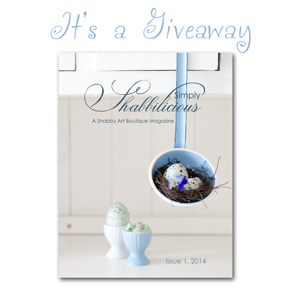 Simply Shabbilicious Magazine Giveaway