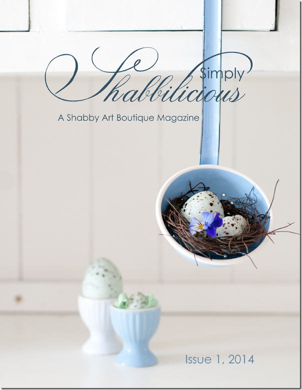 Simply Shabbilicious Magazine - Issue 1, 2014 blog