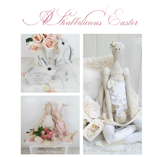 Shabby Art Boutique - A shabbilicious Easter
