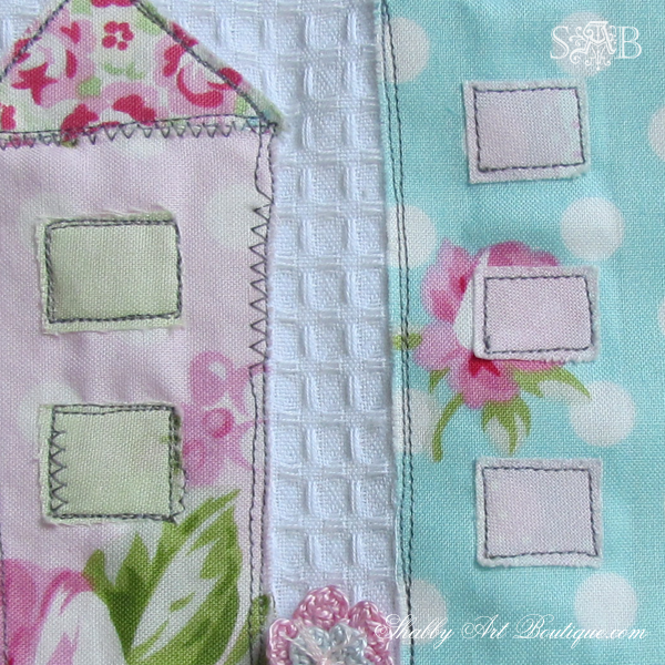 Shabby Art Boutique - Shabby House Tea Towel 5