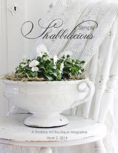 Simply Shabbilicious Magazine, Issue 2, 2014