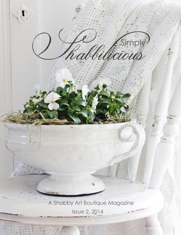 Shabby Art Boutique - Simply Shabbilicious Magazine cover issue 2, 2014 (600)