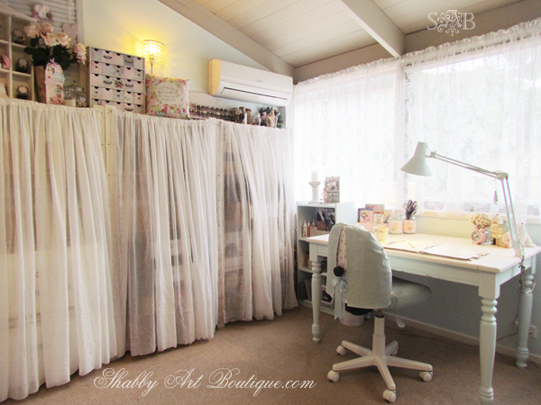 Shabby Art Boutique - craft room 4