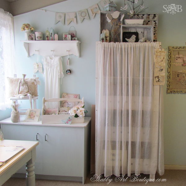 Shabby Art Boutique - craft room 8