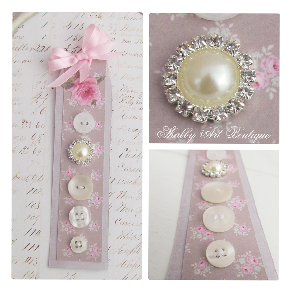 Shabby Art Boutique - Button Cards 3