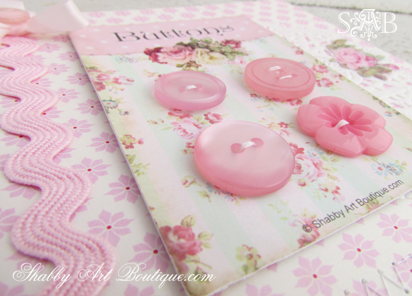 Shabby Art Boutique - Button Cards 4
