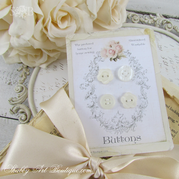 Shabby Art Boutique - © Shabby Button Cards 1