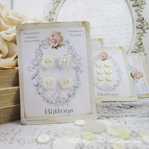 Shabby Art Boutique - © Shabby Button Cards 2