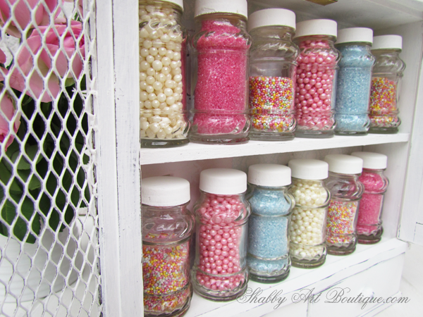 Shabby Art Boutique - Sprinkles Storage Cabinet 1