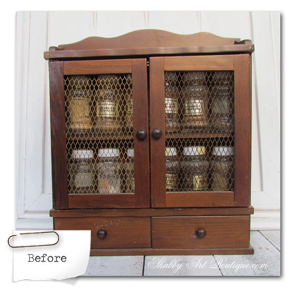 Shabby Art Boutique - Sprinkles Storage Cabinet 2