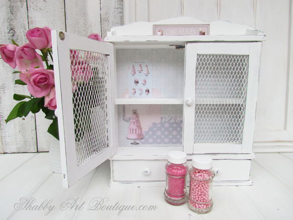 Shabby Art Boutique - Sprinkles Storage Cabinet 5