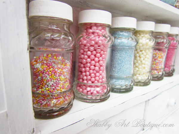 Shabby Art Boutique - Sprinkles Storage Cabinet 6