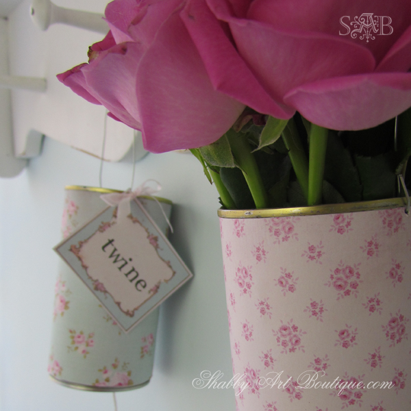 Shabby Art Boutique - Twine Tins 3