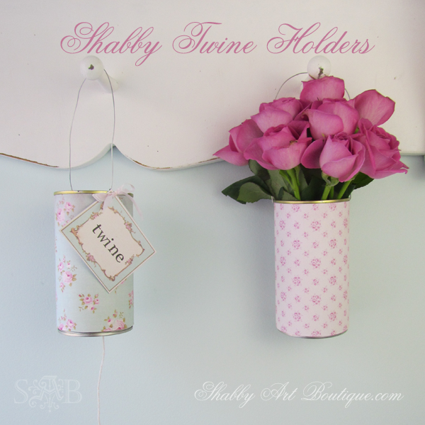 Shabby Art Boutique - Twine Tins 4