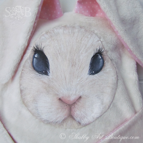 Shabby Art Boutique - bunny snuggles