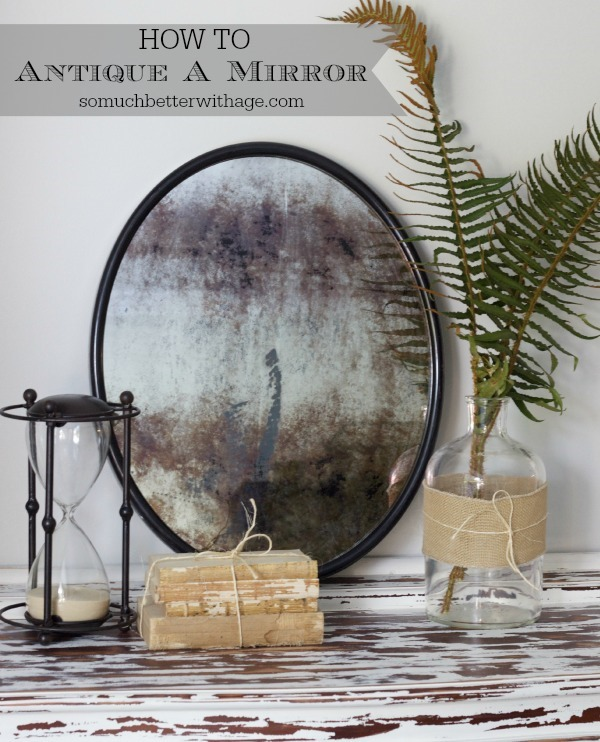 how-to-antique-a-mirror