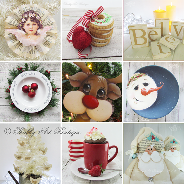 Shabby Art Boutique - Best of DIY Christmas