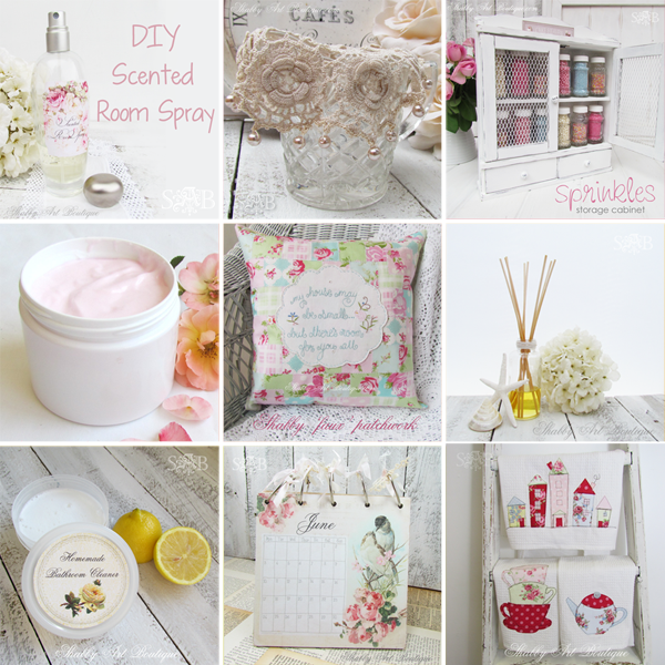 Shabby Art Boutique - Best of DIY home products