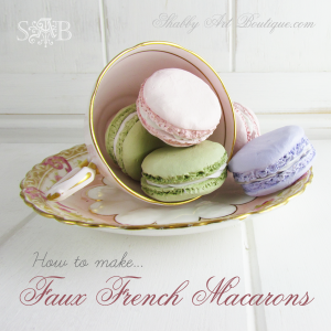 Shabby Art Boutique - Faux French Macarons