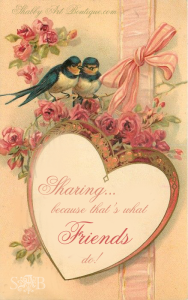 Shabby Art Boutique - Sharing Saturday Logo