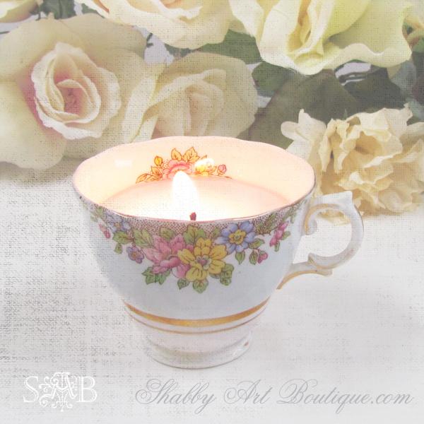 Shabby Art Boutique - homemade candles